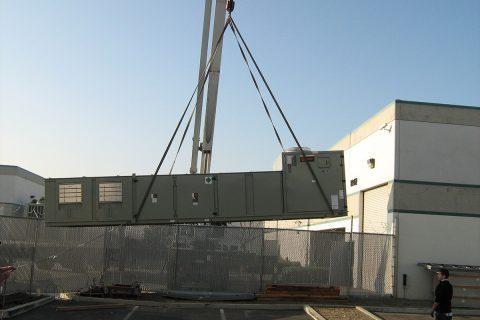 Crane Rental for Heavy Equipment Lift