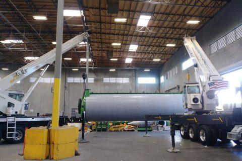 Multi-crane lift - Crainco Inc.