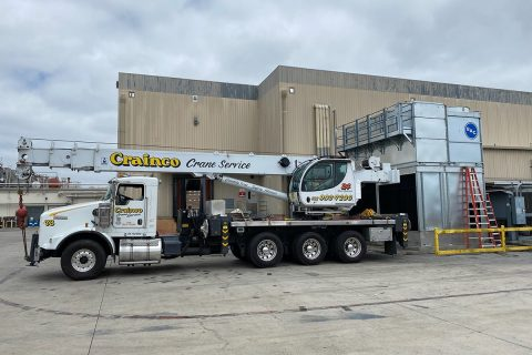 50-ton Crane for Cooling Tower Project