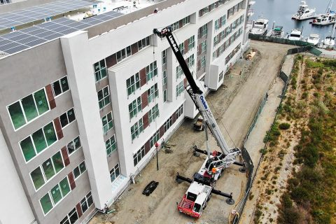 Crane Set-up - Crainco Inc.