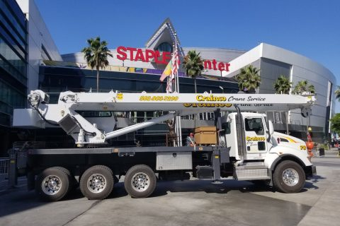 Crainco Provides Services at Staples Center