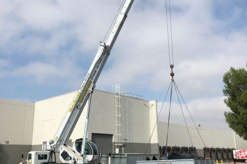 50-ton Hydraulic Truck Crane - Crainco