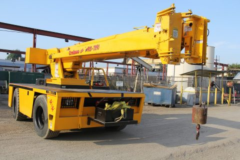 Broderson Cranes for Rent - Orange & LA Counties