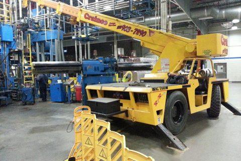 Indoor Warehouse Crane - Crainco Inc.