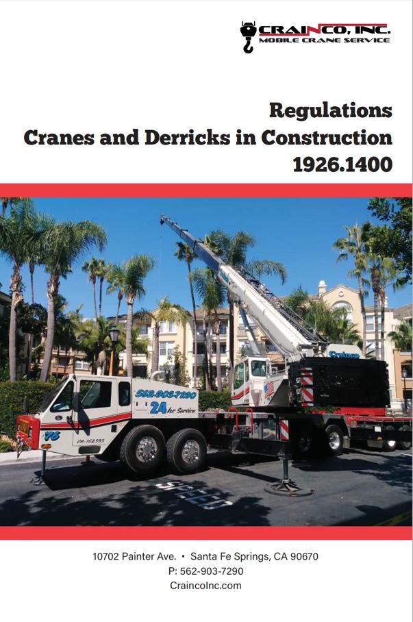 Cranes & Derricks in Construction