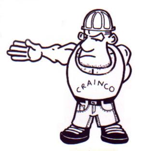 Rotate Right Crane Hand Signal - Crainco Clark